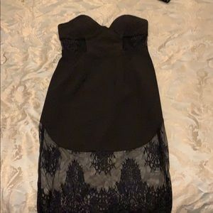 Strapless NBD dress sale for 100 dollars